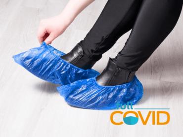 FullCovid Cubre Calzado plástico PE