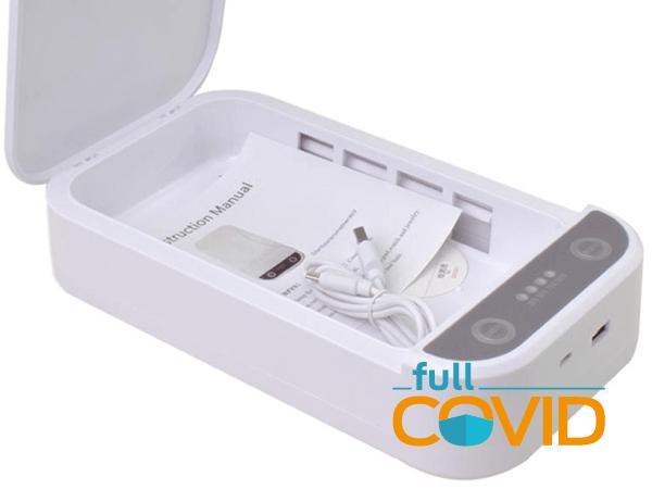 FullCovid USB Caja Esterilizador UV Portátil
