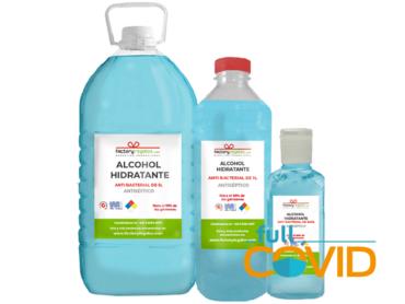FullCovid Alcohol antiséptico 60ml