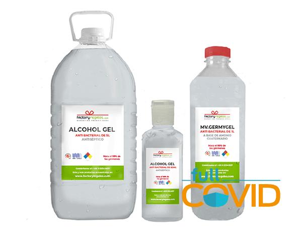FullCovid Alcohol hidratante bacteriano