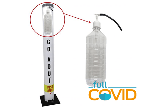 FullCovid Dispensador Alcohol Gel