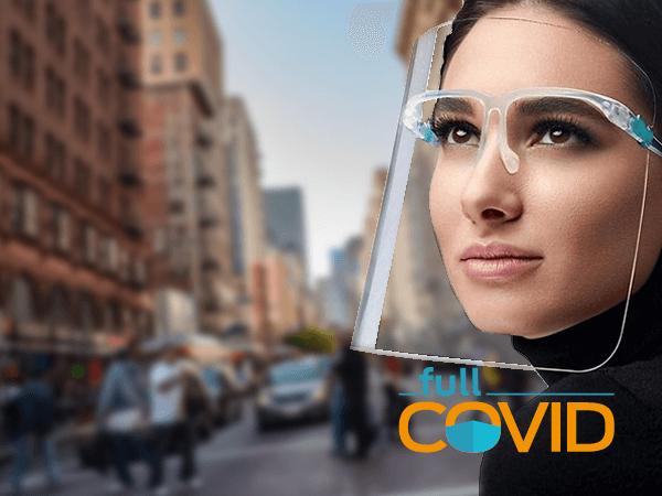 FullCovid Protector facial Transparente