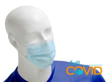 FullCovid Mascarilla 3 capas No-médica B.F.E. 95%