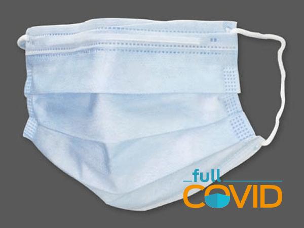 FullCovid Mascarilla 3 capas No-médica B.F.E. 90%