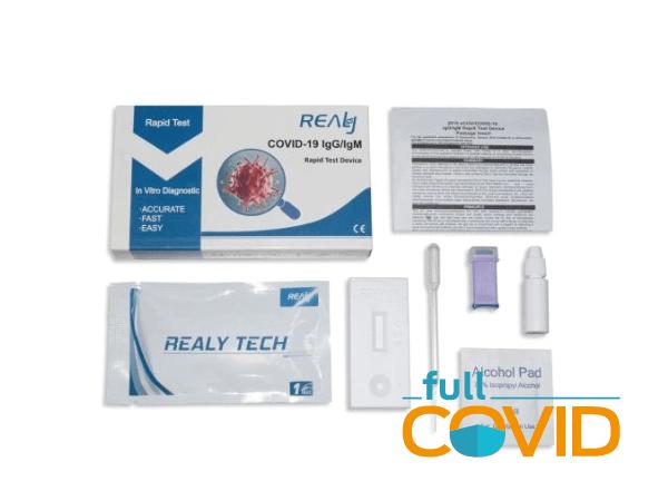 FullCovid Test rápido Covid-19 Hangzhou Realy Tech Co